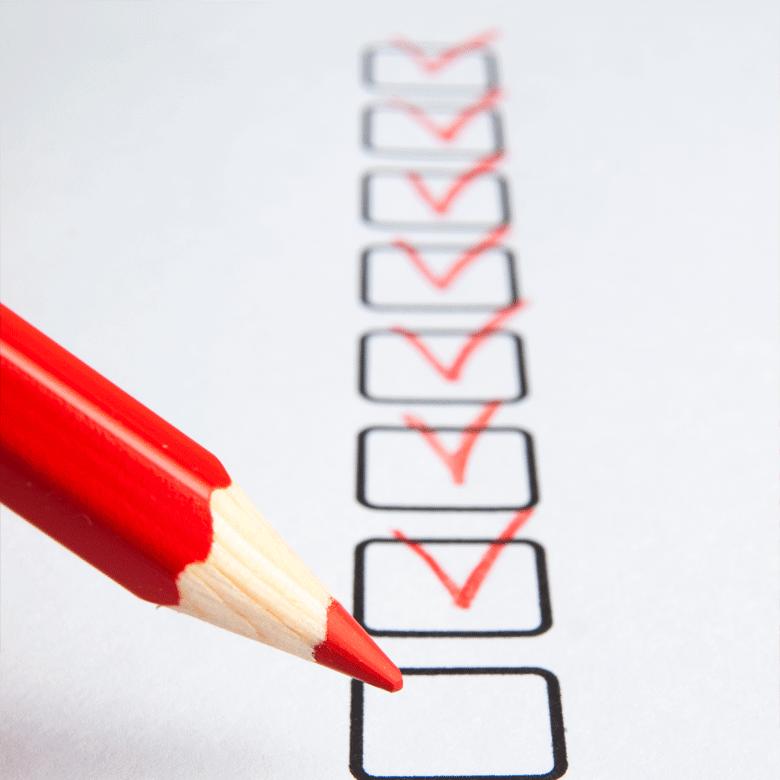 Work Checklist